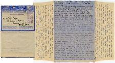 EAST AFRICA EAC STATIONERY LETTERCARD WW2 MILITARY CENSOR OAS WHITE COOPER 1942
