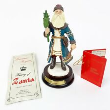 Duncan Royale Russian History Of Santa 2nd Edition Christmas Figure 1989 w Box