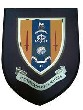 41 Commando Royal Marines Military Shield Wall Plaque