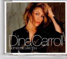 (FM452) Dina Carroll, Someone Like You - 2001 DJ CD