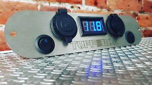 Land rover Defender Tdi 90 110 130 ST/STL 2 x USB socket 2X Switch12V Panel dash