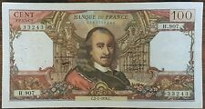 Billet de 100 francs CORNEILLE 2 - 1 - 1976 FRANCE  H.907