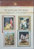 Home And Family Collection: Scripture Stories (4 DVD Set, 1 CD-ROM, 2008)