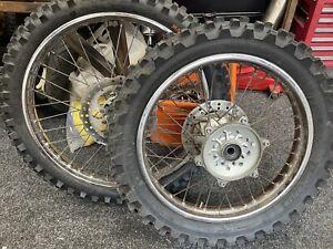 DT125 Forks/Wheels