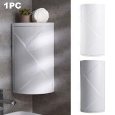 360 Degree Rotation Storage Rack Desktop Home Bathroom Corner Triangle Shelf