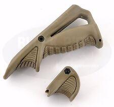 Black Rifle Tactical Ergonomic Forward Point Angled Grip Thumb Lock Hand Stop DE
