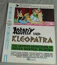 Buch: ASTERIX und Kleopatra - Asterix Sonderband II - Delta / Ehapa 1969  /S265