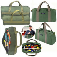 Waterproof Hardware Hand Tool Bag Heavy Case Portable Canvas Storage Toolkit UK