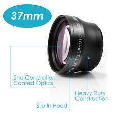 37mm 2x Magnification Telephoto Lens  Professional HD