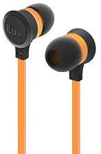 iLuv IEP336 Neon Sound, Neon Colors earphones for Smartphones & Audio Devices