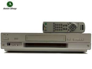 Sony SLV-SF900 VHS Videorecorder 6Kopf mit FB (1709) 3606711 Gewährl.