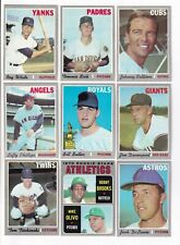 ***1970 Topps 4th Series Baseball PICK LOT-YOU Pick any 1 of 63 cards for $1!
