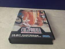 CALIFORNIA GAMES SEGA MEGADRIVE PAL COMPLET CIB
