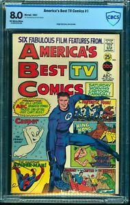 America's Best TV Comics #1 CBCS VF 8.0 Off White to White