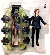 Mcfarlane Toys X Files Alien & Dana Scully Tv Movie Figuras Set Grandes Figuras!