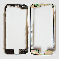 Black LCD Touch Screen Front Middle Frame Bezel Adhesive Replace For iPhone 5S