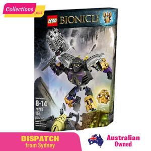 GENUINE LEGO BIONICLE - Onua - Master of Earth - 70789 - Open Box -FREE Shipping