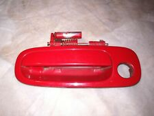 2000-2005 Toyota Celica GT GTS Left Side Door Handle Red OEM ZZT230 ZZT231