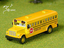 Die Cast Yellow School Bus N Scale 1:160 ? by Kinsmart