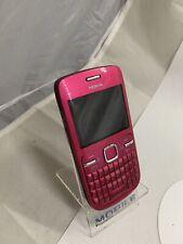 Nokia C3-00 - de color de rosa caliente (Desbloqueado) Teléfono Inteligente