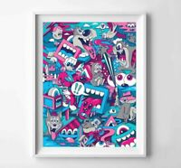 """Greg Mike NOW OR NEVER x/90 Giclee Print 18"""" x 24"""""""