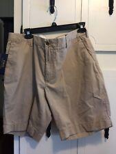 "NWT Men's POLO RALPH LAUREN  Khaki Classic Fit 9"" Shorts -35"
