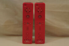2x Official OEM Nintendo Wii Motion Plus Controllers Pink (RVL-036) Tested