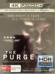 THE PURGE****4K ULTRA HD BLU-RAY****REGION FREE****NEW & SEALED