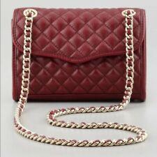 Rebecca Minkoff Quilted Mini Affair Handbag Convertible Crossbody Red, NWT