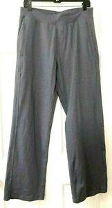 LULULEMON Mens Large Gray Sweat Pants Flat Front Yoga Running Jogging Activewear