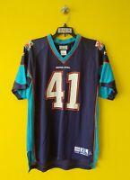🏈 #41 SUPER BOWL XLI NFL FOOTBALL REEBOK JERSEY BOYS - XL ( 18-20 )