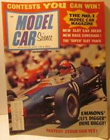 Model Car Science Magazine, September 1968, 1/32 Grand National IMC Stocker