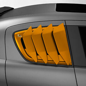 Side window louver vents LION'S KIT V1 for Mazda RX8 RX-8 03-12 S1,S2