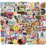 100 Cool Graffiti Sticker Bomb Skateboard Luggage Laptop Car Vinyl Decals Dope