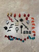 Massive Lego Adventurer Lot Map Gun Jewels Crystal Goblet Snake Spider And More!