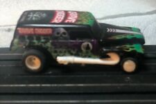 Tyco Grave Digger hoslotcar metal body TCR 2 directional chassis new custom