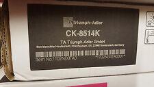ORIGINALE Triumph-Adler UTAX TONER ck-8514k NERO 1t02nk0ta0 6006ci a-Ware