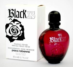 Paco Rabanne Black Xs 80ml Edt For Women Without Box Old Version