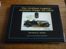 THE GRAHAM LEGACY: GRAHAM PAIGE TO 1932, RARE CAR BOOK