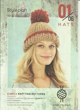 Stylecraft How to Knit 01/06 Hats in Special XL