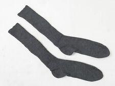 #B WW2 Wehrmacht Luftwaffe Paar Woll Stiefel Socken Strümpfe grau Gr.43/44 (28)