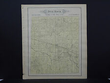 Illinois, Ogle County Map, 1893 #09 Township of Pine Rock