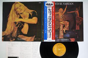 SYLVIE VARTAN A L'OLYMPIA RCA RCA-6088 Japan OBI VINYL LP