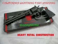 "SALE HEAVY METAL 8"" COLT PYTHON REVOLVER 1:1 REPLICA MOVIE PROP GUN TRAINING AID"