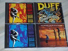 GUNS 'N ROSES & Solos - Sammlung - 4 CDs (mit Liste) zum absoluten Superpreis !!