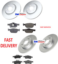 For Honda Civic 2.2 I-DTEC (12-14) MK9 Front & Rear Brake Discs & Pads Complete