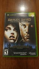Broken Sword: The Sleeping Dragon (Microsoft Xbox 2003) MINT COMPLETE! MAIL TOMO