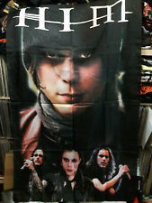 Vintage   HIM   Unused  TEXTILE POSTER FLAG      ville valo