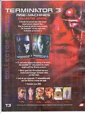TERMINATOR 3 RISE OF THE MACHINES MINI MASTER SET BY COMIC IMAGES 2003