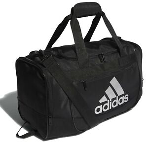 adidas DEFENDER III MEDIUM BLACK/SILVER DUFFEL BAG - MODEL 5144007